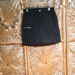 Rafaella Women Skort Black Size 4